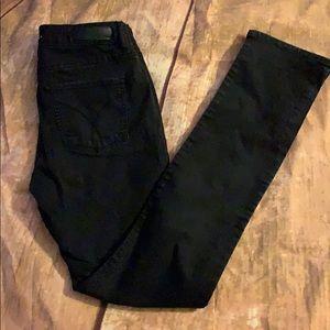 Calvin Klein Ultimate Skinny Jeans Black Sz 8